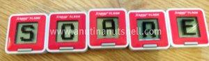 Scrabble Flash tiles