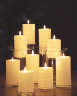 GloLite romantic candles