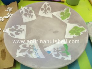 making plate paint your own pottery shop