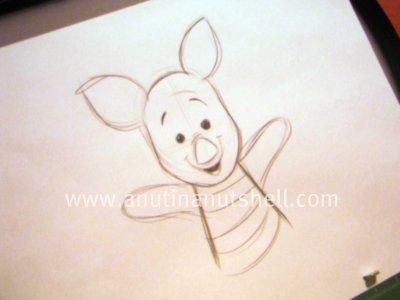 Disney animator's Piglet