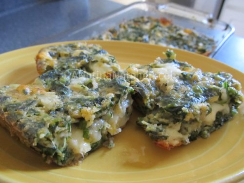 Spinach Cheese Squares appetizer