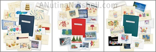 Gallery Collection gift card assortment packs