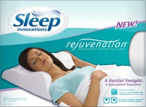 Sleep Innovations Rejuvenation memory foam Pillow