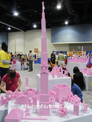 Lego tower Lego KidsFest