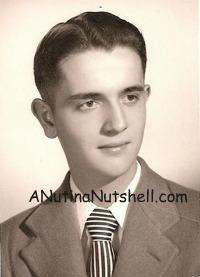 Dad senior portrait