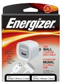 Energizer Wall Charger and Cable