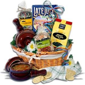 Soup and Crocks Gift Basket
