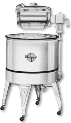 Whirlpool wringer washer 1939