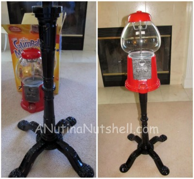 gumball machine assembly