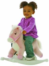 rockin' rider pink pony