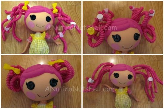 Lalaloopsy Doll hairstyles