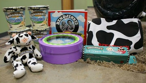 Ben and Jerry's giveaway prize pack