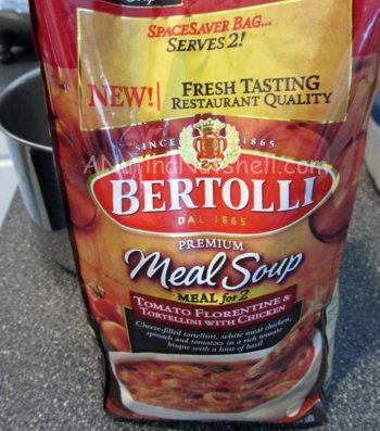 Bertolli meal soup for 2