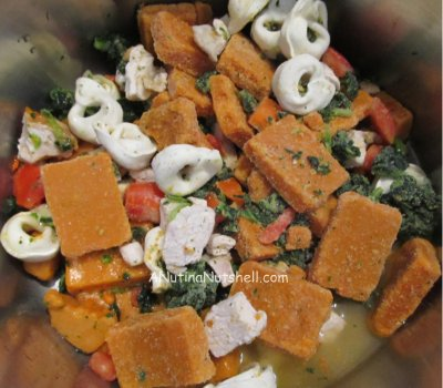 Bertolli tortellini soup