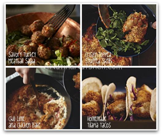 Kraft Fresh Take recipes