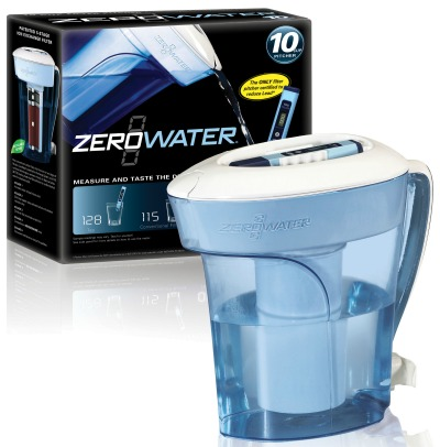 zerowater filtered water pitcher review giveaway 2 winners eat move make. Black Bedroom Furniture Sets. Home Design Ideas