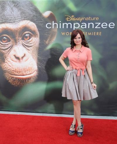 Debby-Ryan-Chimpanzee-premiere
