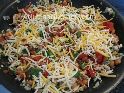 making chipotle tamale pie