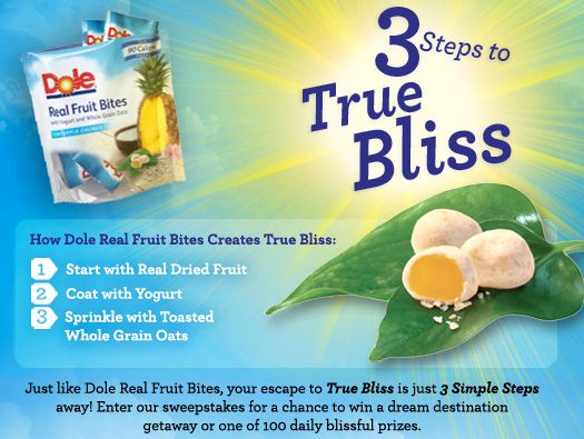 dole-3-steps-to-true-bliss-sweepstakes