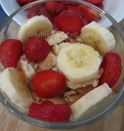 how to make strawberry banana pudding