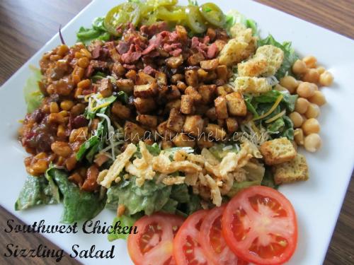 Kraft sizzling salads recipes