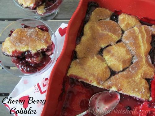 Cherry-Berry-Cobbler
