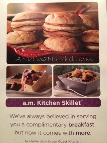 am kitchen skillet Hyatt Place