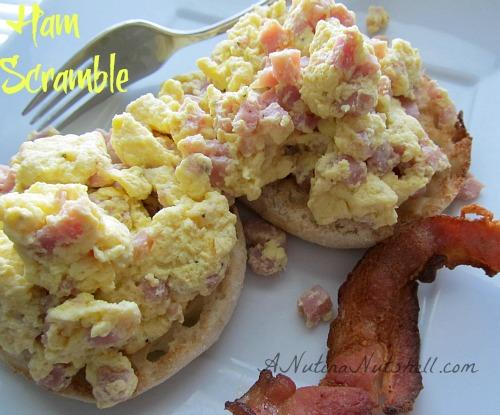 Ham-Scramble-breakfast