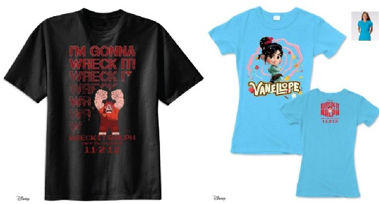 Wreck-It-Ralph-tshirts