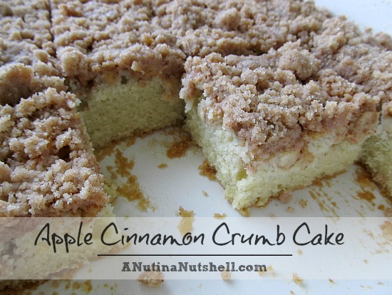 Apple Cinnamon Crumb Cake