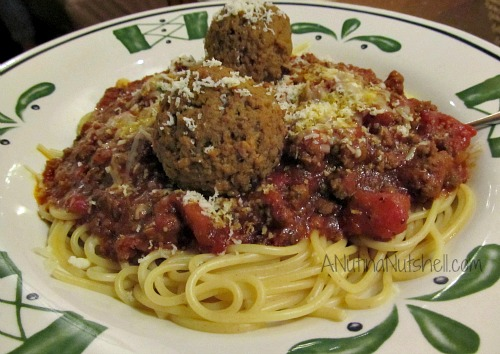 Dinner today dinner tomorrow archives eat move make - Olive garden spaghetti and meatballs ...