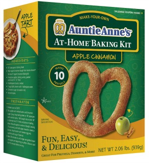 Auntie Anne's At Home Baking Kit Apple Cinnamon