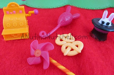 Lalaloopsy silly fun house accessories