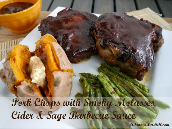 Pork-Chops-Smoky-Molasses-Cider-Sage-Barbecue-BBQ-sauce