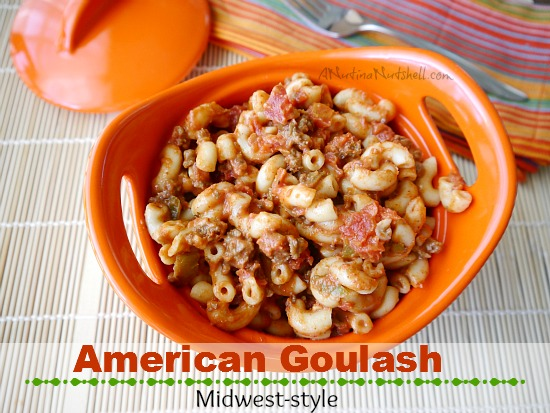 American Goulash midwest-style