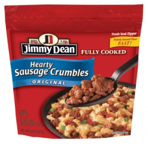 Jimmy Dean Hearty Sausage Crumbles