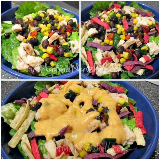 Lean Cuisine salad additions southwest salad kit