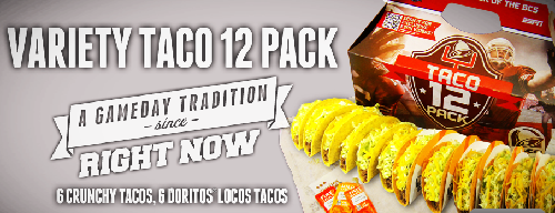 Taco Bell Variety Pack