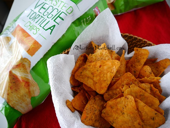 Green Giant _ Roasted Veggie Tortilla Chips Zesty Cheddar
