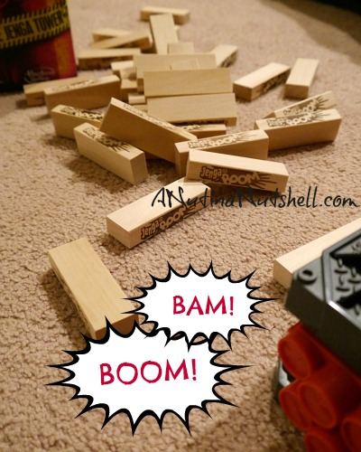 Jenga Boom collapsed tower