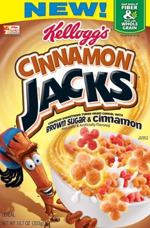 Kelloggs Cinnamon Jacks cereal