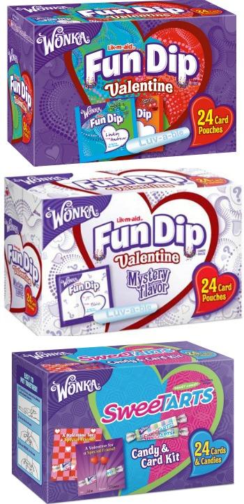 Nestle's Fun Dip Valentines - SweetTarts Valentines