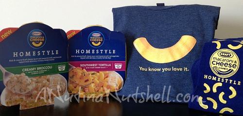 Kraft Blue Box prize pack