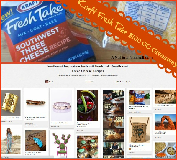 Kraft Fresh Take Southwest Inspiration pinterest board