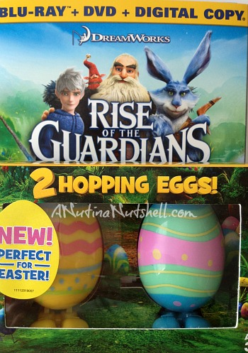 Rise of the Guardians Blu-ray DVD Digital hopping eggs bundle