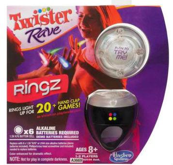 Twister Rave Ringz set