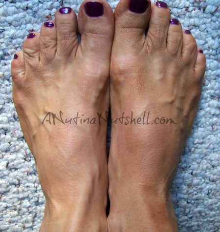 spray-tanned-feet