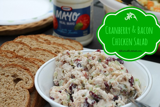 Cranberry & Bacon Chicken Salad recipe