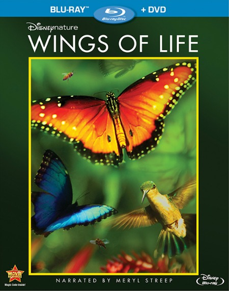 Disneynature Wings of Life Blu-ray DVD