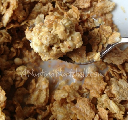 Honey Bunches of Oats granola clusters